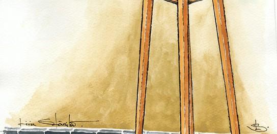 """""""Nhà Dột Từ Nóc Dột Xuống"""", Trên Hư Hỏng Thì Dưới Hứng Đủ. Dân Nhà Nghèo Ở  Nhà Dột Rầu Thấy Mồ. Nóc Nhà Dột, Nửa Đêm Tỉnh Giấc, Lum Khum Hứng ..."""