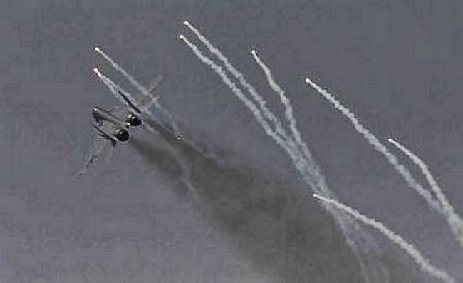 Những phi vụ của Hoa Kỳ, oanh tạc căn cứ quân sự Trung Quốc trong lãnh thổ Việt Nam. Nguồn: Bộ Quốc Phòng Trung Quốc (PLA).