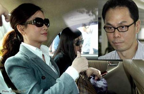 Bà Cecilia Sue Siew Nang giám đốc một công ty công nghệ tại Singapore đổi tình lấy hợp đồng.