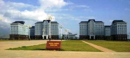 Trụ sở các cơ quan hành chính Lai Châu.