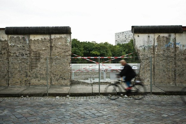 Dấu tích bức tường Berlin bị phá hôm 09/11/1989