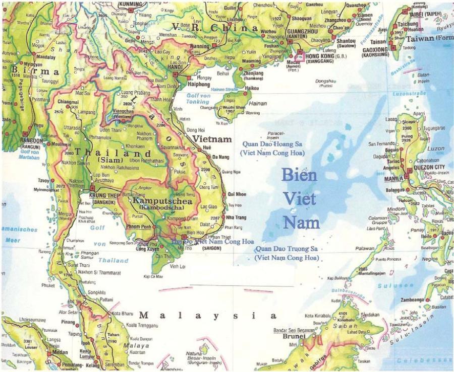 Phạm Cao Dương – Phải thường xuyên duyệt xét bản đồ thế giới