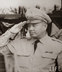 General Duong Van Minh,  leader of the Coup d'état.