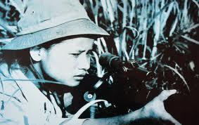 Nữ xạ thủ Việt Cộng biệt danh Apache