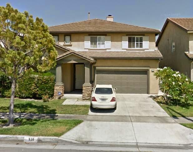 Căn biệt thự tại số 636 South Halliday Street, Anaheim, CA 92804 được Phó Thủ tướng Nguyễn Xuân Phúc mua từ năm 2005