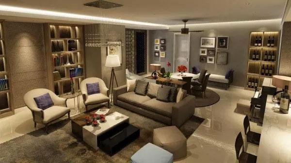 Không gian phòng khách Vũ Chí Hùng thiết kế cho mẹ ruột từ ngân sách của Phó Thủ tướng Nguyễn Xuân Phúc