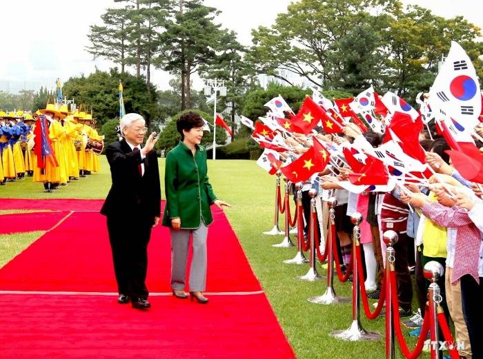 Tổng bí thư Nguyễn Phú Trọng thăm Hàn Quốc