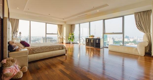 View và nội thất căn Penhouse tại Tầng 25, Vincom Center Tp. HCM được Phùng Quang Hải mua với giá 35 tỷ đồng