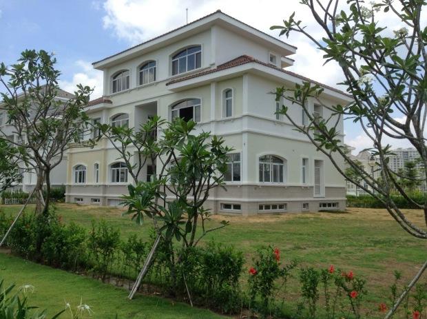 Căn biệt thự lâu đài Chateau Phú Mỹ Hưng được Phùng Quang Hải mua với giá 82,5 tỷ đồng