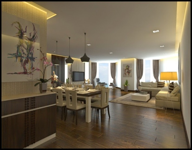 Bản thiết kế căn A2, tầng 20 của Premier Havana Plaza được Phùng Quang Hải mua với giá 20 tỷ đồng