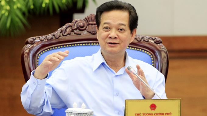 Thủ tướng Nguyễn Tấn Dũng chủ trì Phiên họp Chí