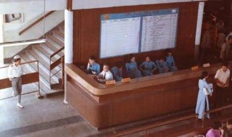 Quầy làm việc ở Phi cảng TSN