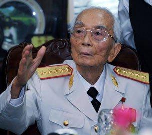 Tướng việt cộng Võ Nguyên Giáp, AFP.