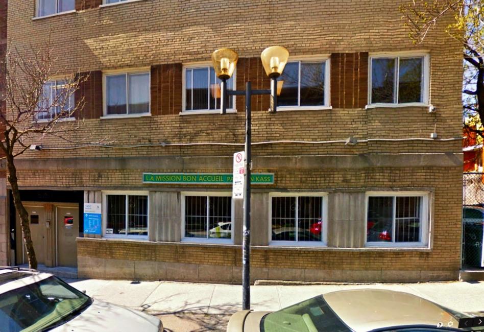 1450 Rue Beaudry, Montréal H2L 3E5: Trụ sở kinh tài của Hôi VKĐK thời Việt Nam bị cấm vận đến khi tan vỡ (1984-1990). Nguồn: Google Maps.
