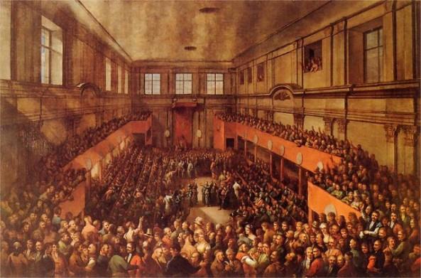 Quốc hội Ba Lan thông qua Hiến pháp ngày 3 tháng 5 năm 1791 - Ảnh tư liệu