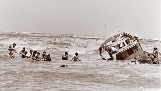 Ký ức một lần chạm trán cướp biển trong Vịnh Thái Lan