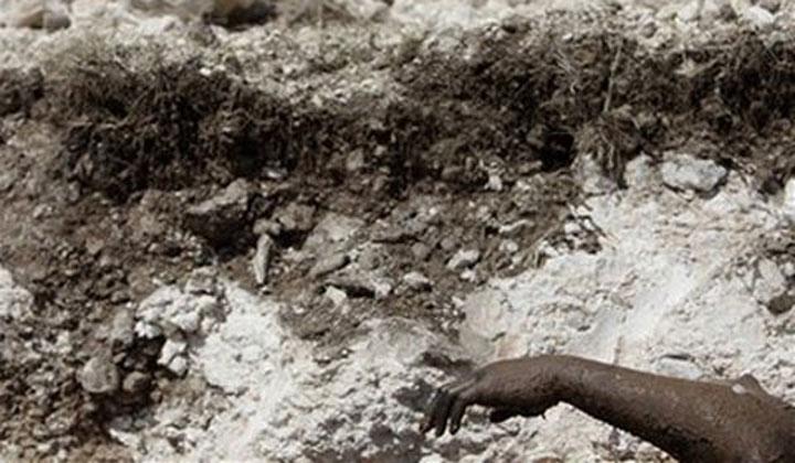 Gởi đến chế độ đang lụi tàn truyện ngắn: Người chôn xác