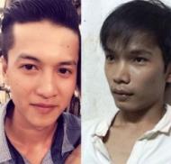 Hai hung thủ Nguyễn Hải Dương và Vũ Văn Tiến trong vụ án tại Bình Phước.