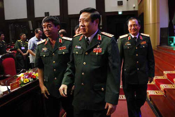 Tướng Phùng Quang Thanh Đang Bị Quản Thúc