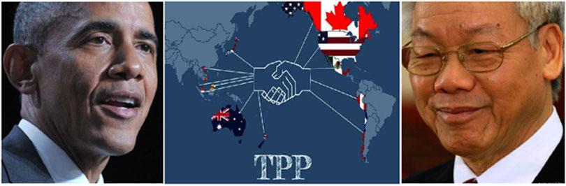 CHUYẾN MỸ DU CỦA TỔNG TRỌNG VÀ HIỆP ƯỚC TPP