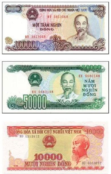 Ban đầu loại tiền đổi ngày 25/4/1985 tờ mệnh giá lớn nhất là 50 đồng. Theo thời gian do mất giá, nên tiền có mệnh giá lớn được in ra. Tiền đổi lần 3 ngày 14/9/1985, bây giờ không còn dùng nữa và đã thay thế bằng tiền PolymeTiền đổi lần 3 ngày 14/9/1985, bây giờ không còn dùng nữa và đã thay thế bằng tiền Polyme.