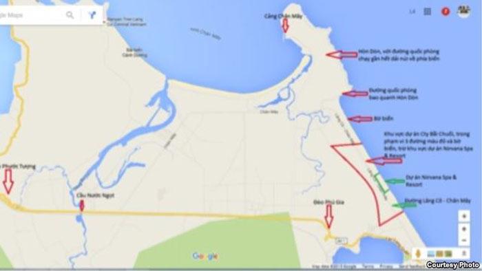 Người Trung Quốc lại sắp lập căn cứ ở Lăng Cô – Thừa Thiên Huế?