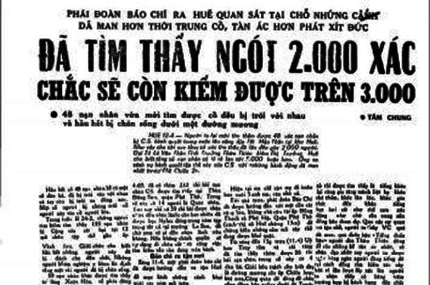 Ảnh chụp từ báo Chính Luận ngày 13/14-04-1969.