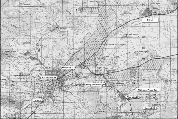 Bản đồ Ban Mê Thuột