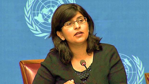 Ravina Shamdasani, người phát ngôn Văn phòng Cao ủy LHQ về Nhân quyền