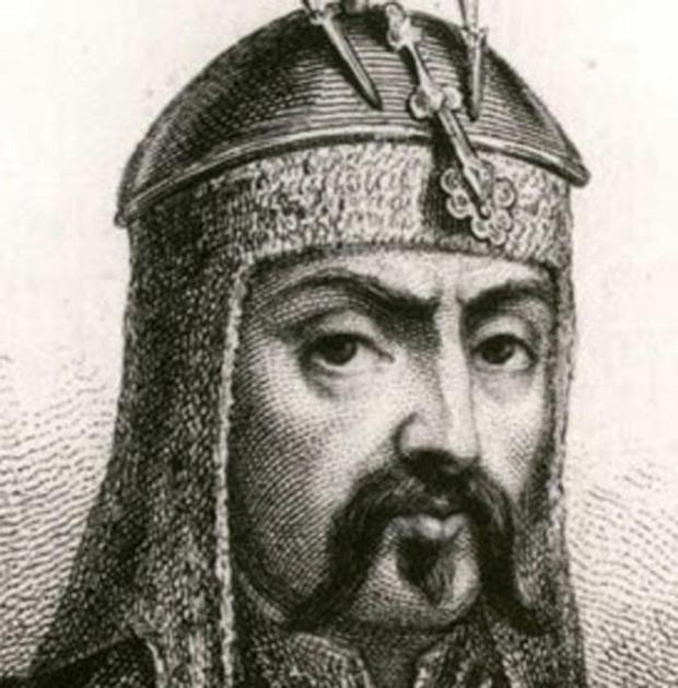 (Ảnh Genghis Khan vẽ bởi người Âu châu [2])